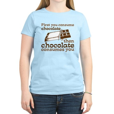 Chocolate Women's Light T-Shirt