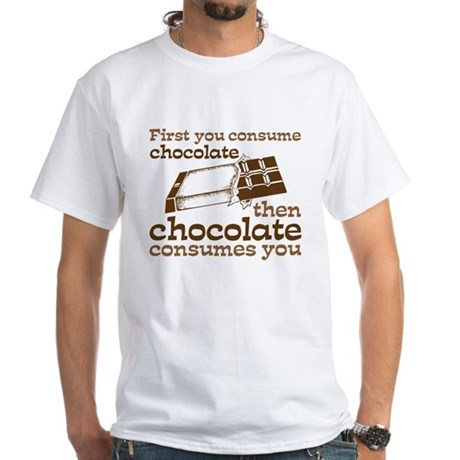 Chocolate White T-Shirt