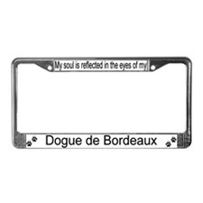 """Dogue de Bordeaux"" License Plate Frame"