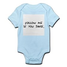 if you dare Infant Bodysuit