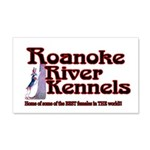 Roanoke River 22x14 Wall Peel