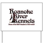 Roanoke River Yard Sign