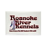 Roanoke River Rectangle Magnet