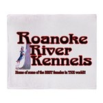 Roanoke River Throw Blanket
