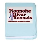 Roanoke River baby blanket