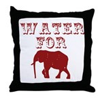 Water For Elephants Throw Pillow