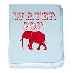 Water For Elephants baby blanket