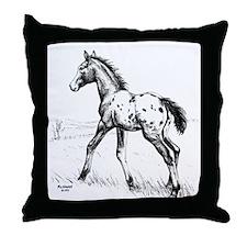 Appaloosa Throw Pillow