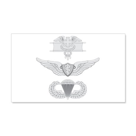 EFMB Flight Surgeon Airborne 22x14 Wall Peel