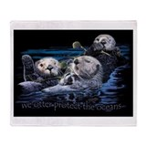 Cool Animals wildlife Throw Blanket