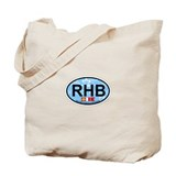 Rehoboth Beach DE - Oval Design Tote Bag