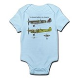 Supermarine Spitfire MH434 Infant Bodysuit