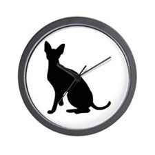 Cornish Rex Wall Clock