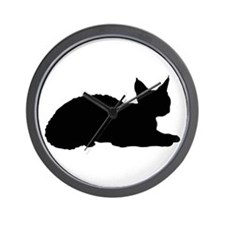 Devon Rex Wall Clock