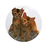 Adorable Kittens Ornament (Round)