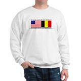 USA - Belgium unite! Sweatshirt