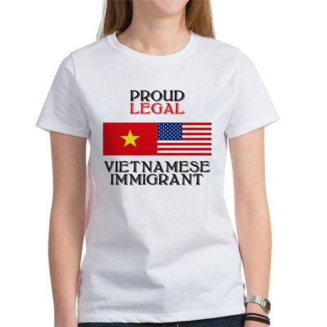 Vietnamese Immigrant Women's T-Shirt