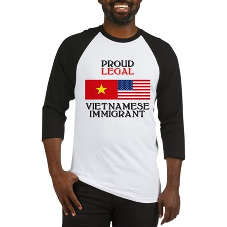 Vietnamese Immigrant Baseball Jersey