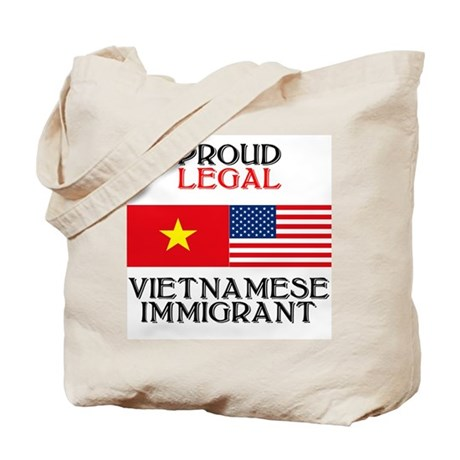 Vietnamese Immigrant Tote Bag