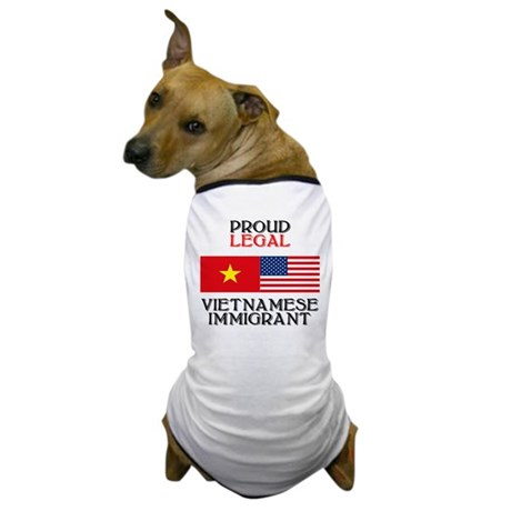 Vietnamese Immigrant Dog T-Shirt