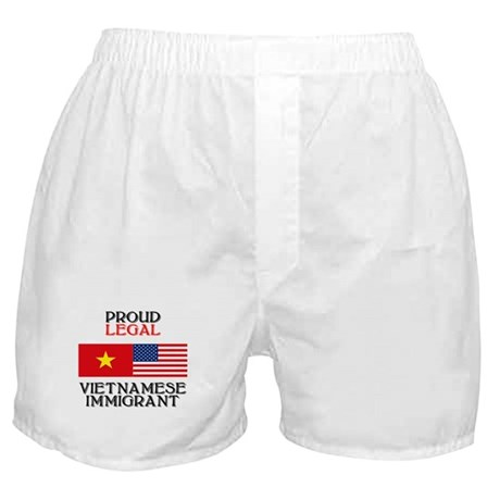 Vietnamese Immigrant Boxer Shorts