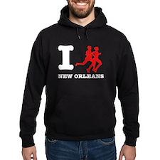 I run new Orleans Hoodie