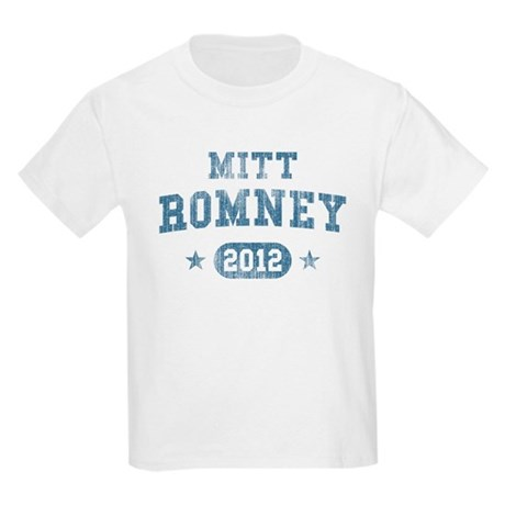 'Vintage' Mitt Romney Kids Light T-Shirt
