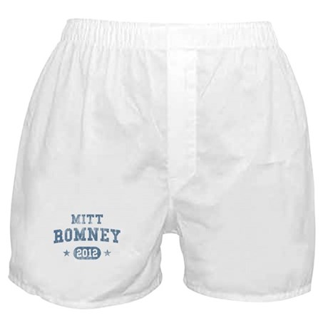 'Vintage' Mitt Romney Boxer Shorts