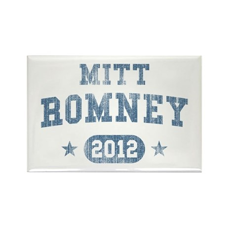 'Vintage' Mitt Romney Rectangle Magnet