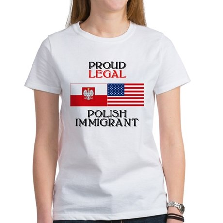 Polish Immigrant Women's T-Shirt
