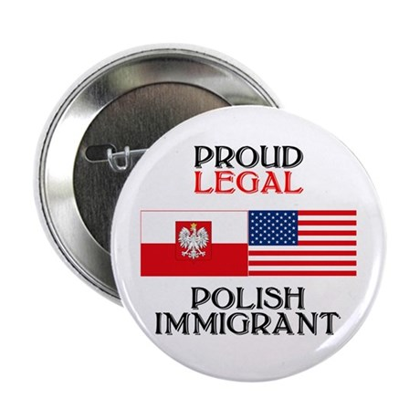 "Polish Immigrant 2.25"" Button (10 pack)"