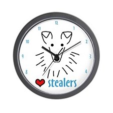 Sheltie Heart Stealers Wall Clock