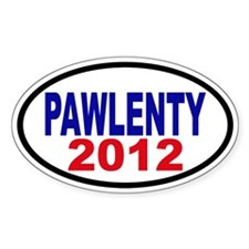 Tim Pawlenty 2012 Decal