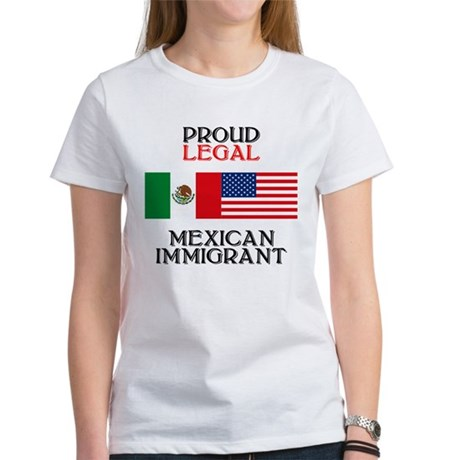 Mexican Immigration Women's T-Shirt
