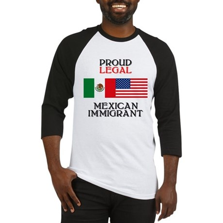 Mexican Immigration Baseball Jersey