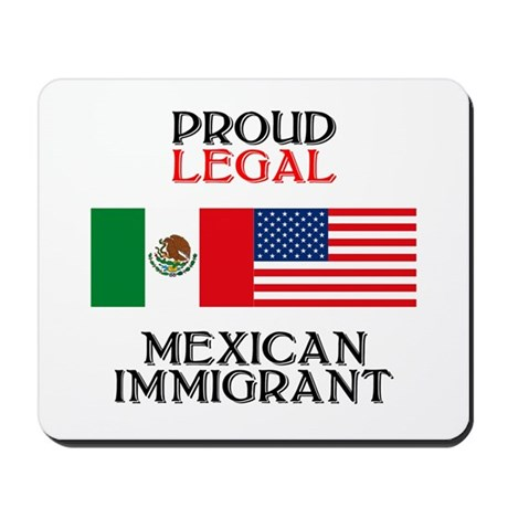 Mexican Immigration Mousepad