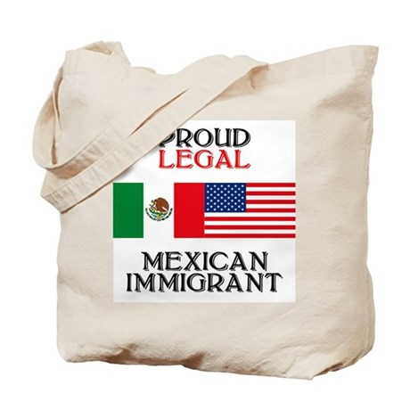 Mexican Immigration Tote Bag