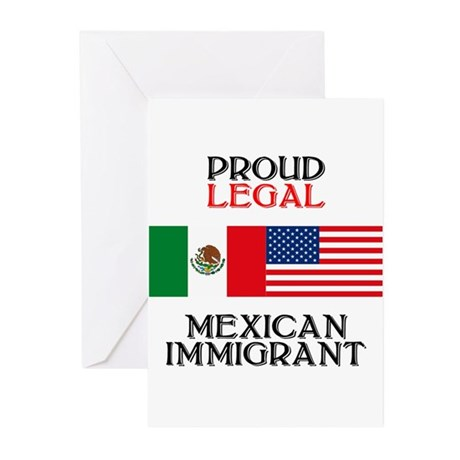 Mexican Immigration Greeting Cards (Pk of 10)