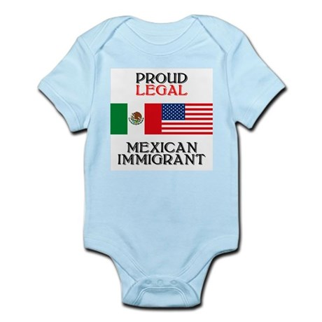 Mexican Immigration Infant Creeper