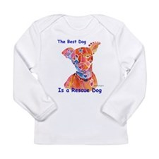 Adopt a Shelter Dog Long Sleeve Infant T-Shirt