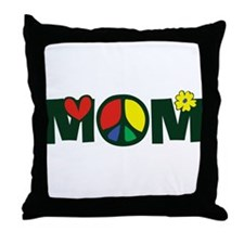 Peace Mom Throw Pillow