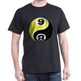 8 Ball 9 Ball Yin Yang T-Shirt