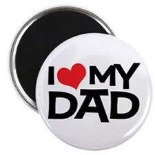 "I Love My Dad 2.25"" Magnet (10 pack)"