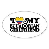 Ecuadorian Girlfriend Decal