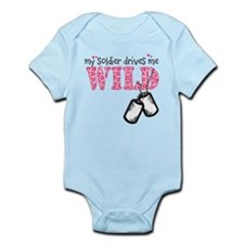 Combat medic wife Infant Bodysuit