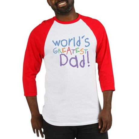 World's Greatest Dad Baseball Jersey