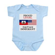 Haitian Immigrant Infant Creeper