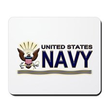 US Navy Eagle & Anchor Mousepad