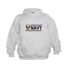 US Navy Eagle & Anchor Hoodie