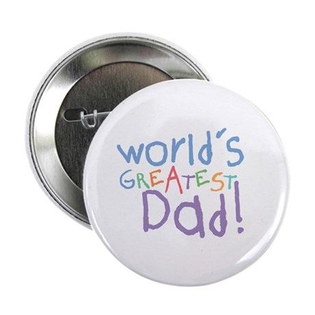 "World's Greatest Dad 2.25"" Button (100 pack)"